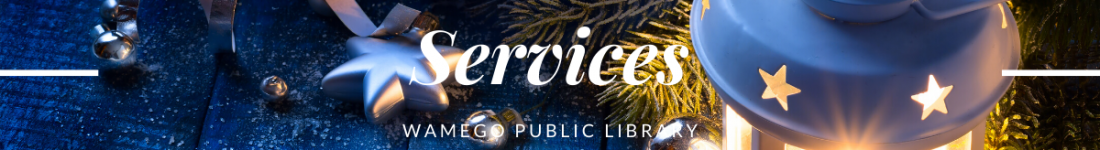 Services Christmas Website Banner