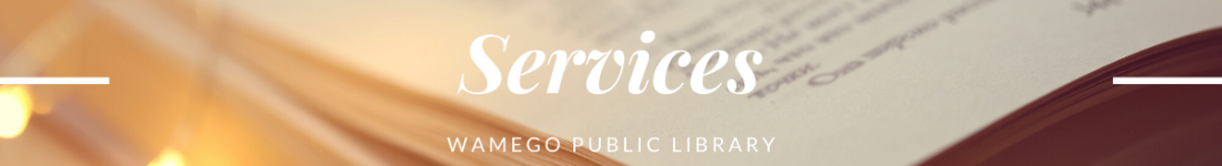 Services website banner