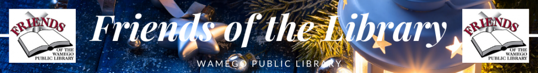Friends of the Library Christmas Web Banner