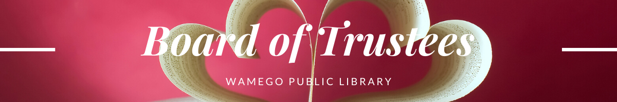 Board of Trustees Web Banner
