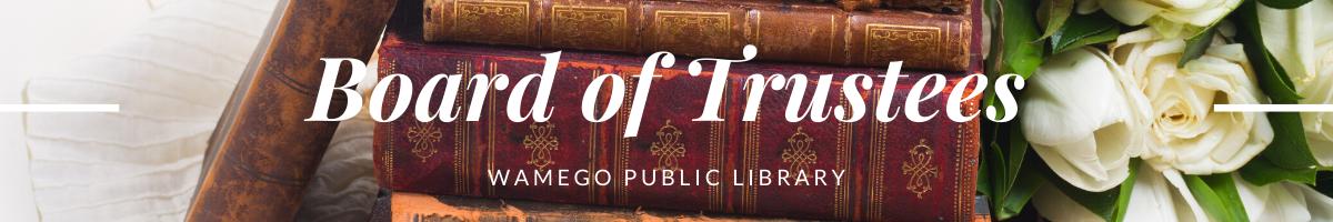 Board of Trustees Webpage Banner