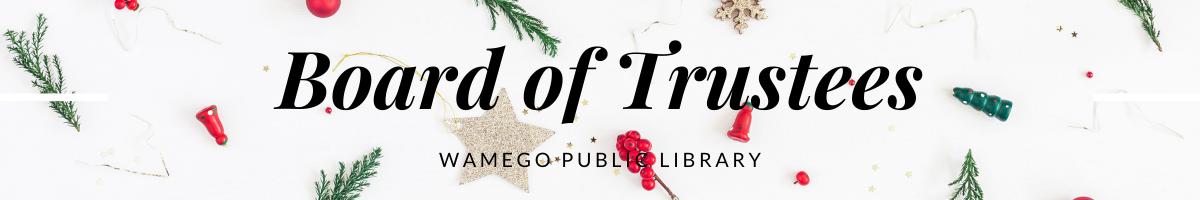 Board of Trustees Christmas Website Banner