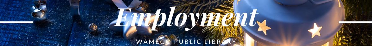 Employment Christmas Website Banner