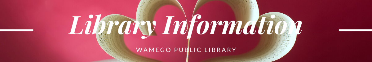 Library Information Web Banner