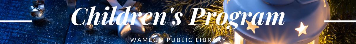 Children's Christmas Web Banner