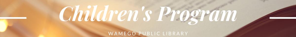 childrens program website banner