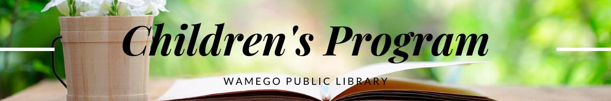 Children's Program Webpage Banner
