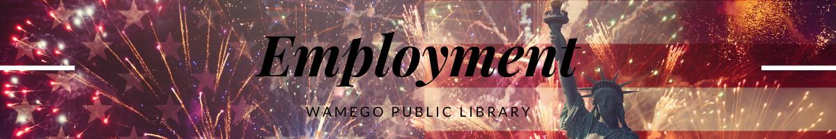 Employment Webpage Banner