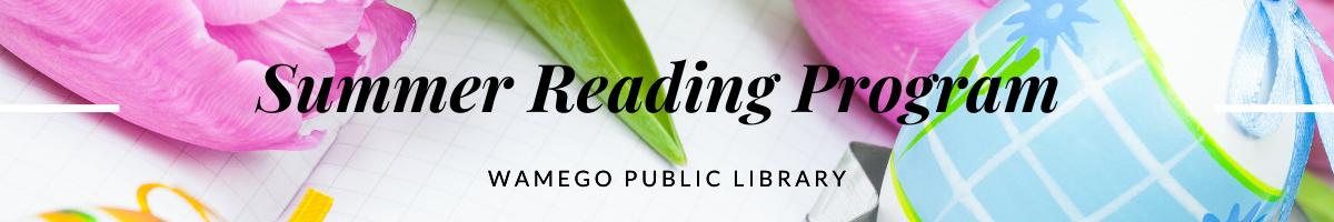 Summer Reading Program Web Page