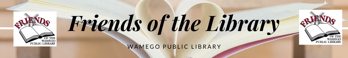 Friends of the Library Webpage Banner